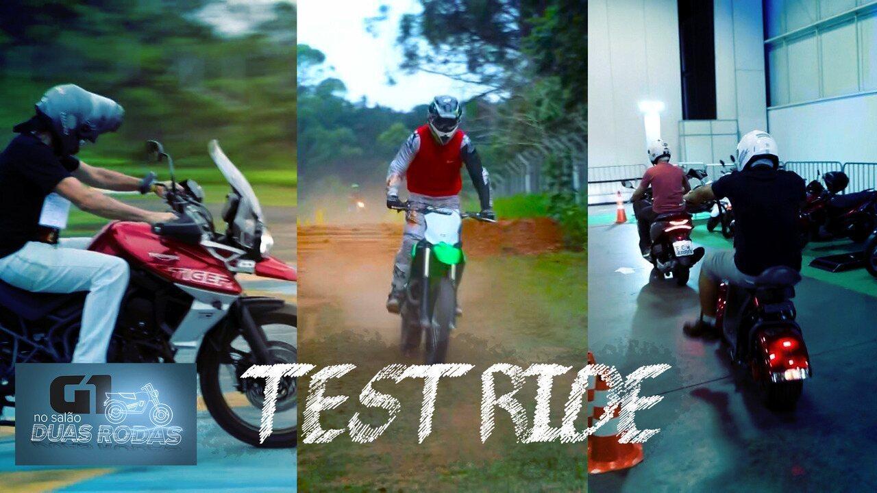 Salão Duas Rodas 2019: Test-ride nas motos do evento