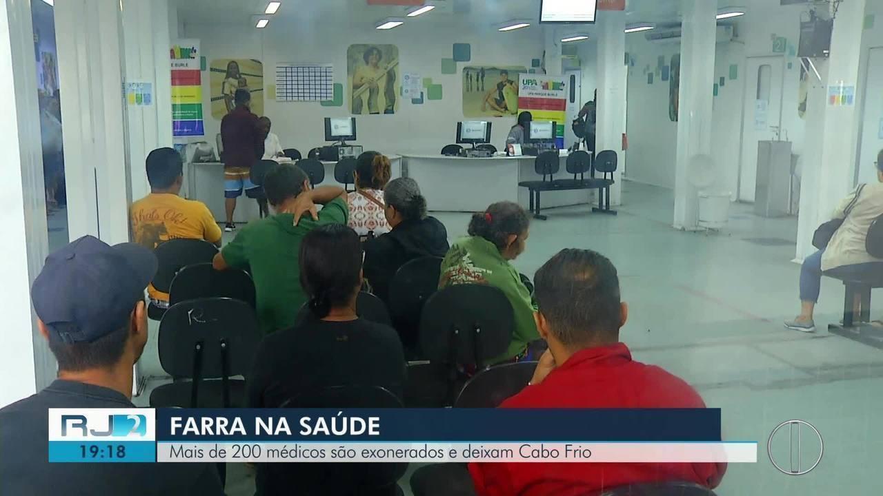 Mais de 200 médicos são exonerados e deixam Cabo Frio