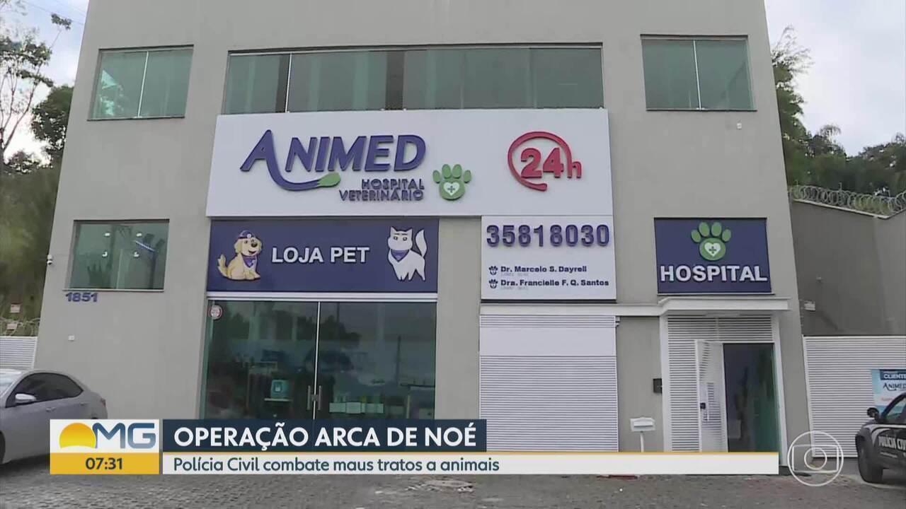 Medicamentos vencidos eram utilizados em clínica veterinária de Nova Lima, diz polícia