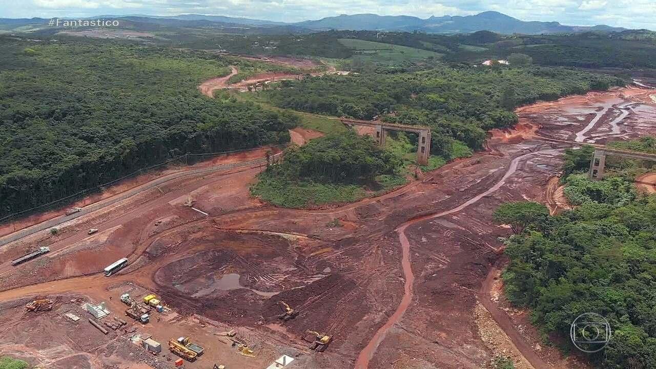 Fantástico tem acesso a laudos feitos pela PF em perícias na barragem de Brumadinho