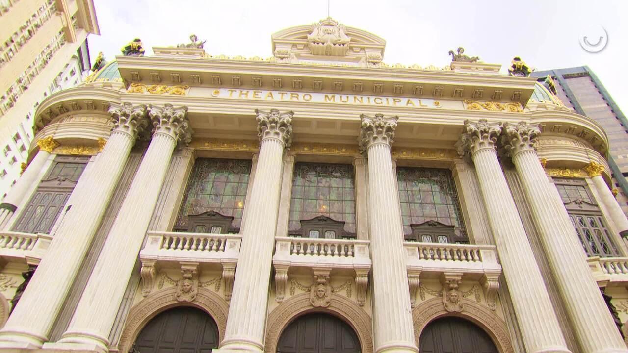 Atores de 'Filhos da Pátria' narram a história do Theatro Municipal do Rio de Janeiro