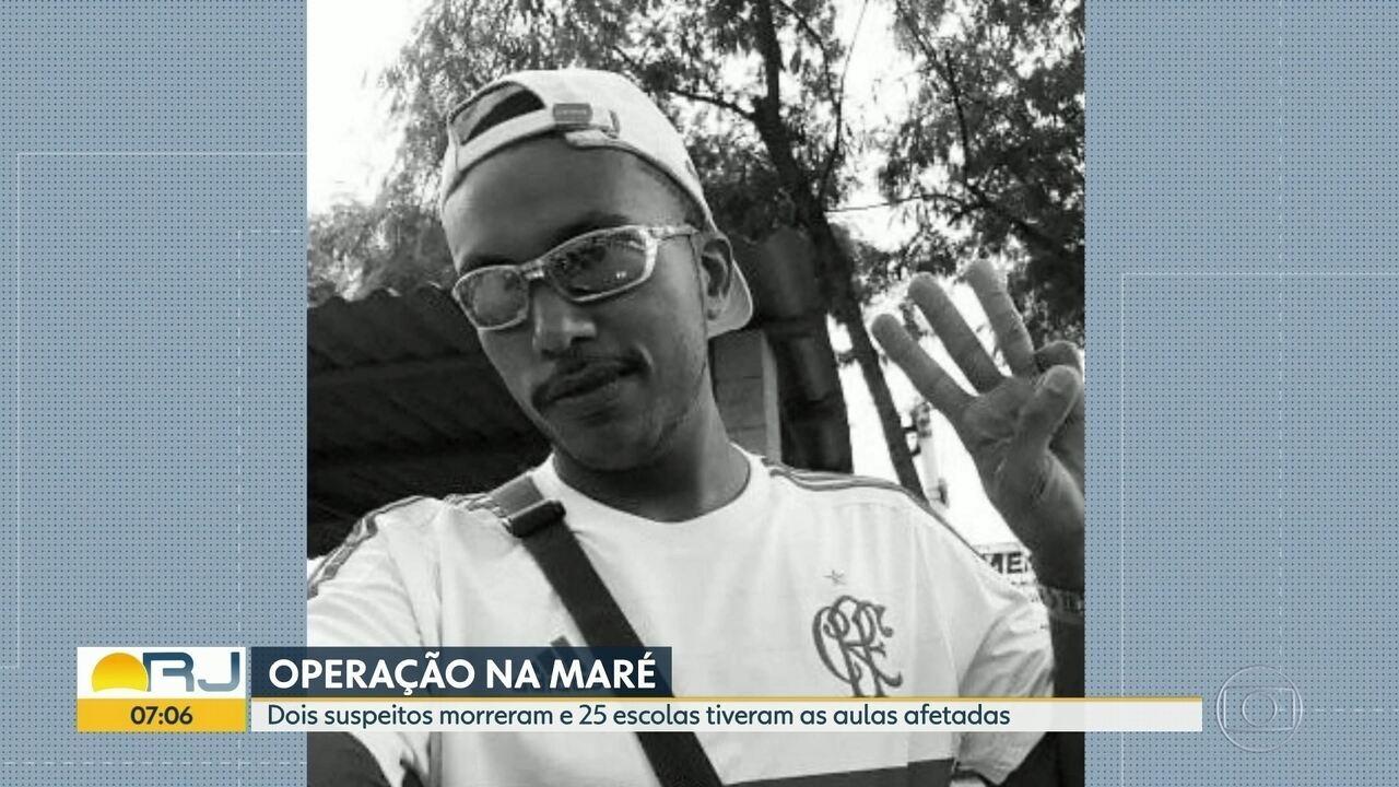 Operação da PM na Maré termina com dois homens mortos