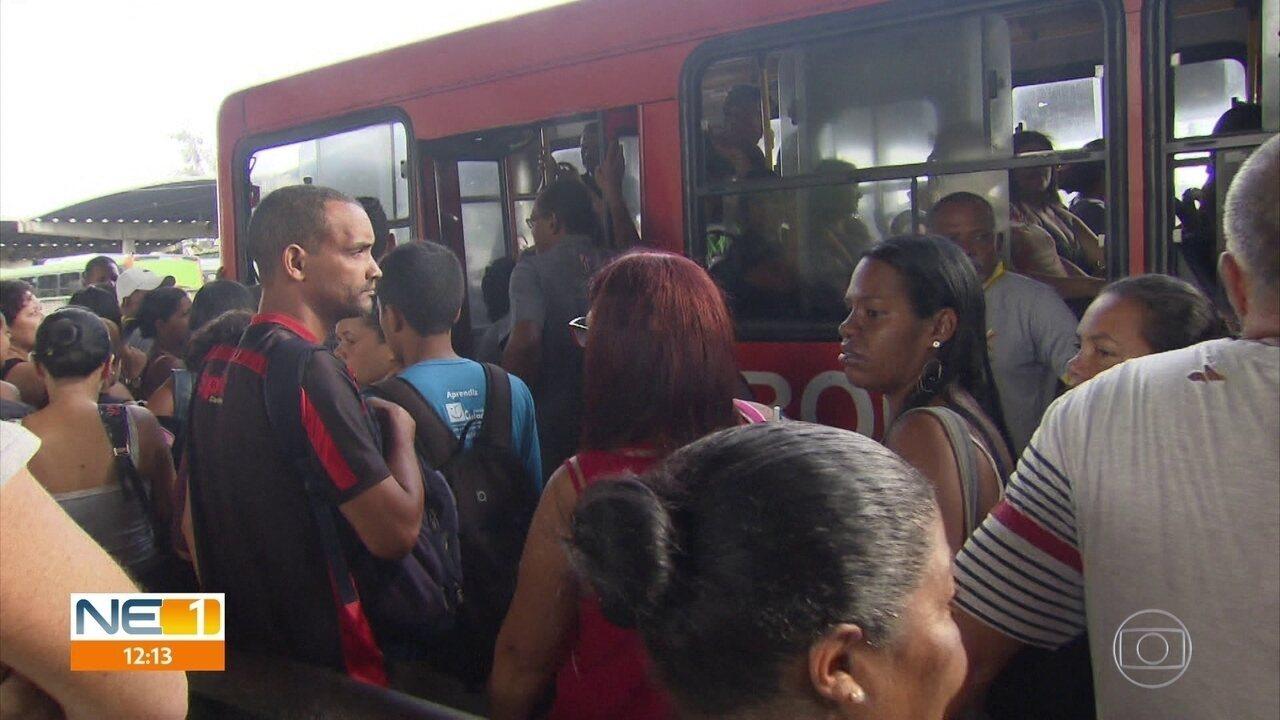 Circulação de ônibus tem atraso após coletivos queimados no Grande Recife