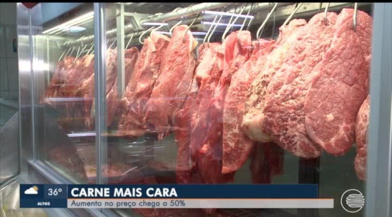 Preço da carne no Piauí dispara e muitos consumidores mudam o cardápio