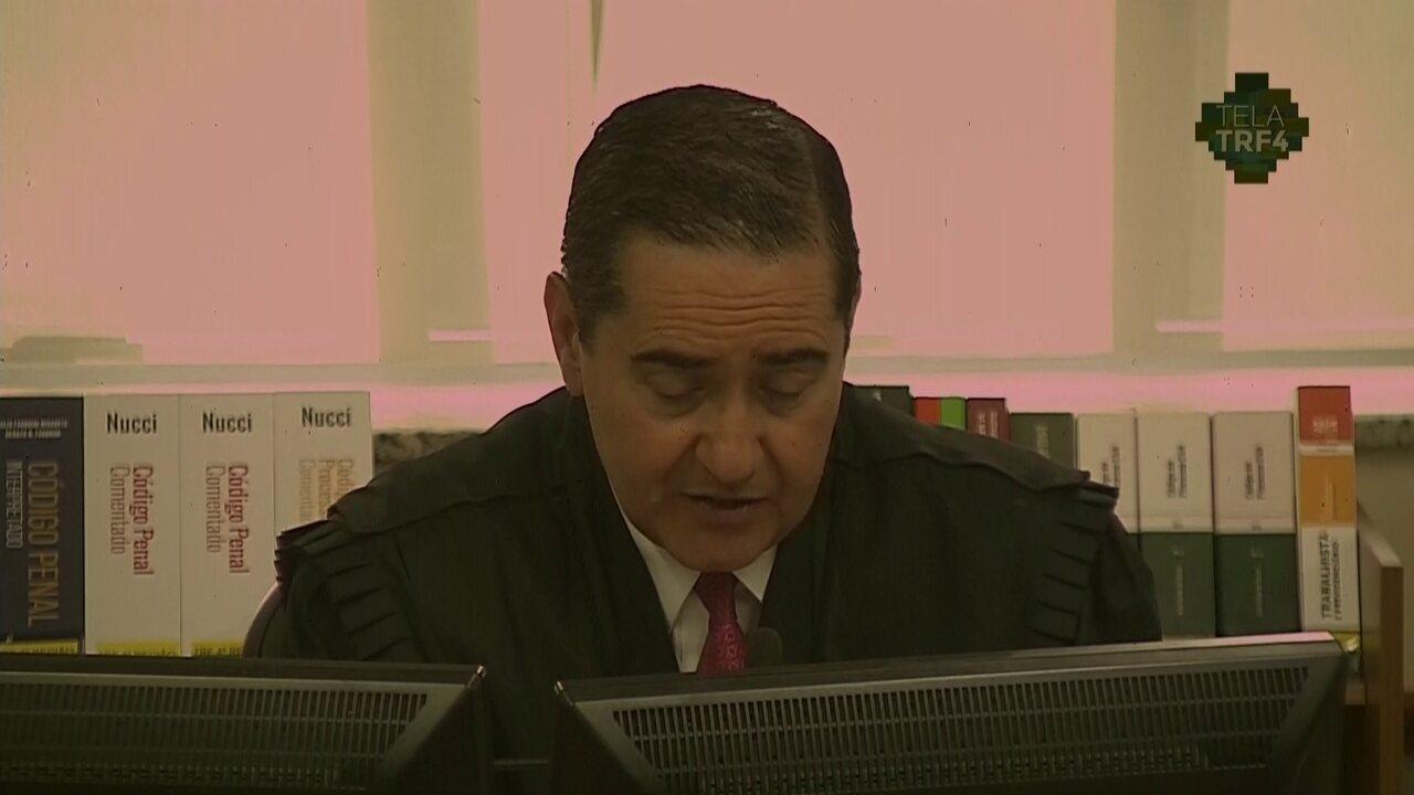 Voto do desembergador Thompson Flores no julgamento de Lula