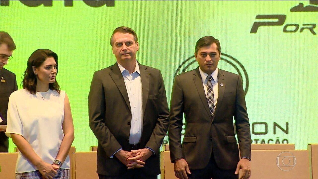 Bolsonaro inaugura última turbina de Belo Monte