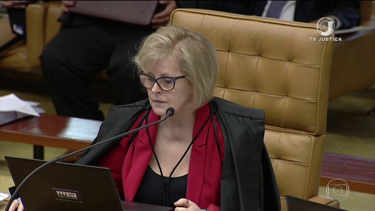 Ministra Rosa Weber vota no julgamento sobre compartilhamento de dados fiscais