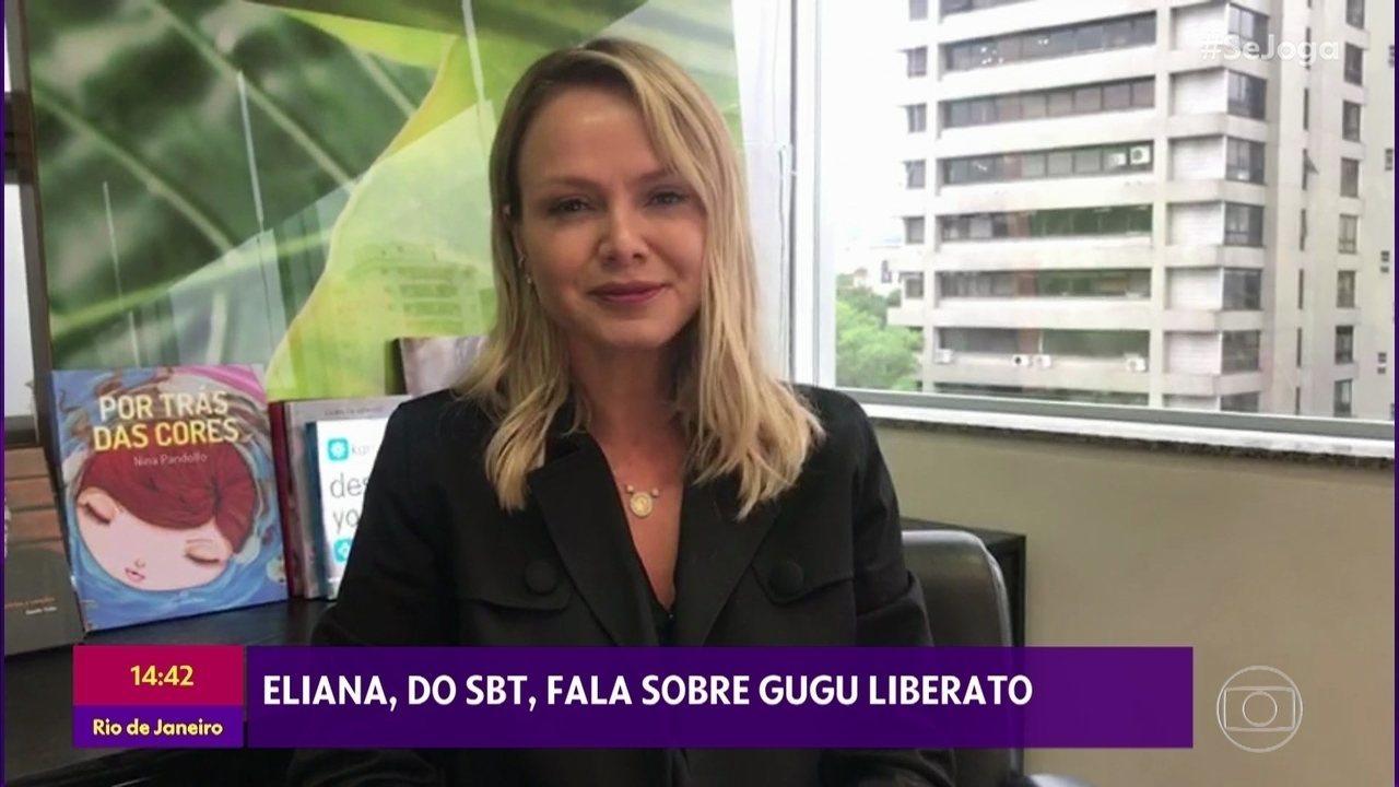Eliana fala sobre a generosidade de Gugu Liberato