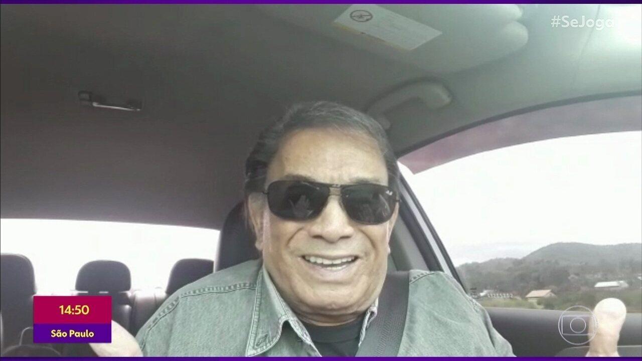 Dedé Santana homenageia Gugu Liberato