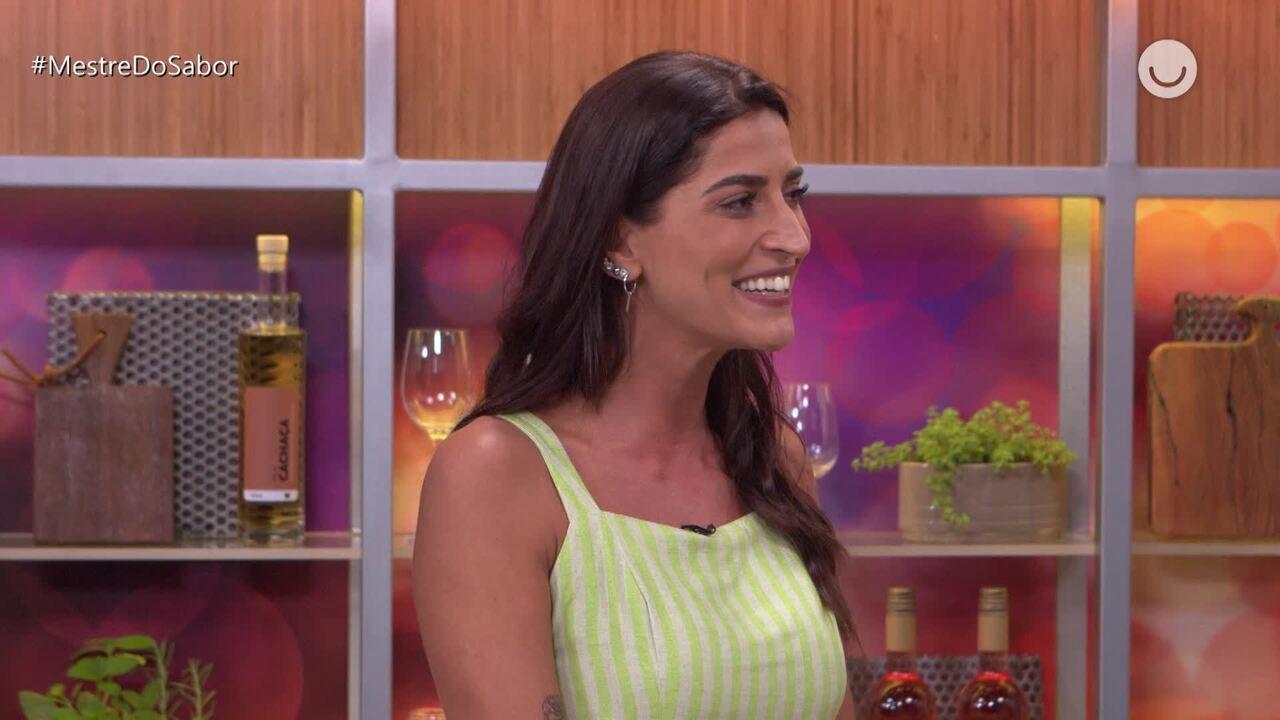 'Fora da Cozinha': Maria Joana diz que se inspirou em prato de Ana Bueno
