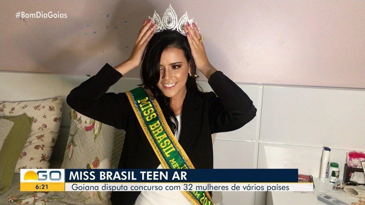 Miss vai representar Goiás em concurso internacional na Ásia