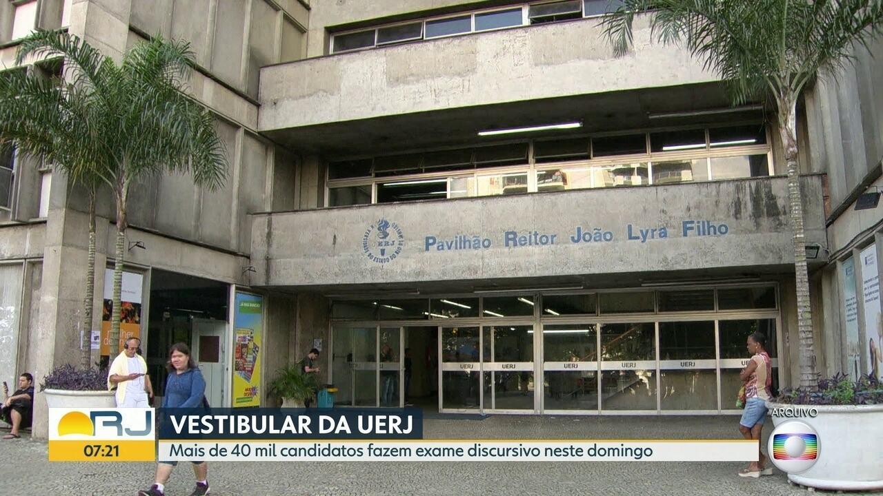 Vestibular da Uerj tem etapa discursiva neste domingo
