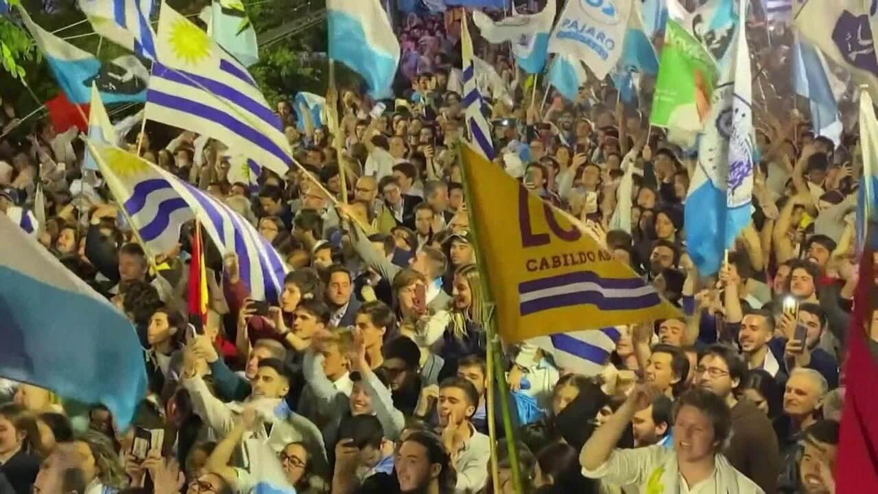 Lacalle Pou é declarado o novo presidente do Uruguai