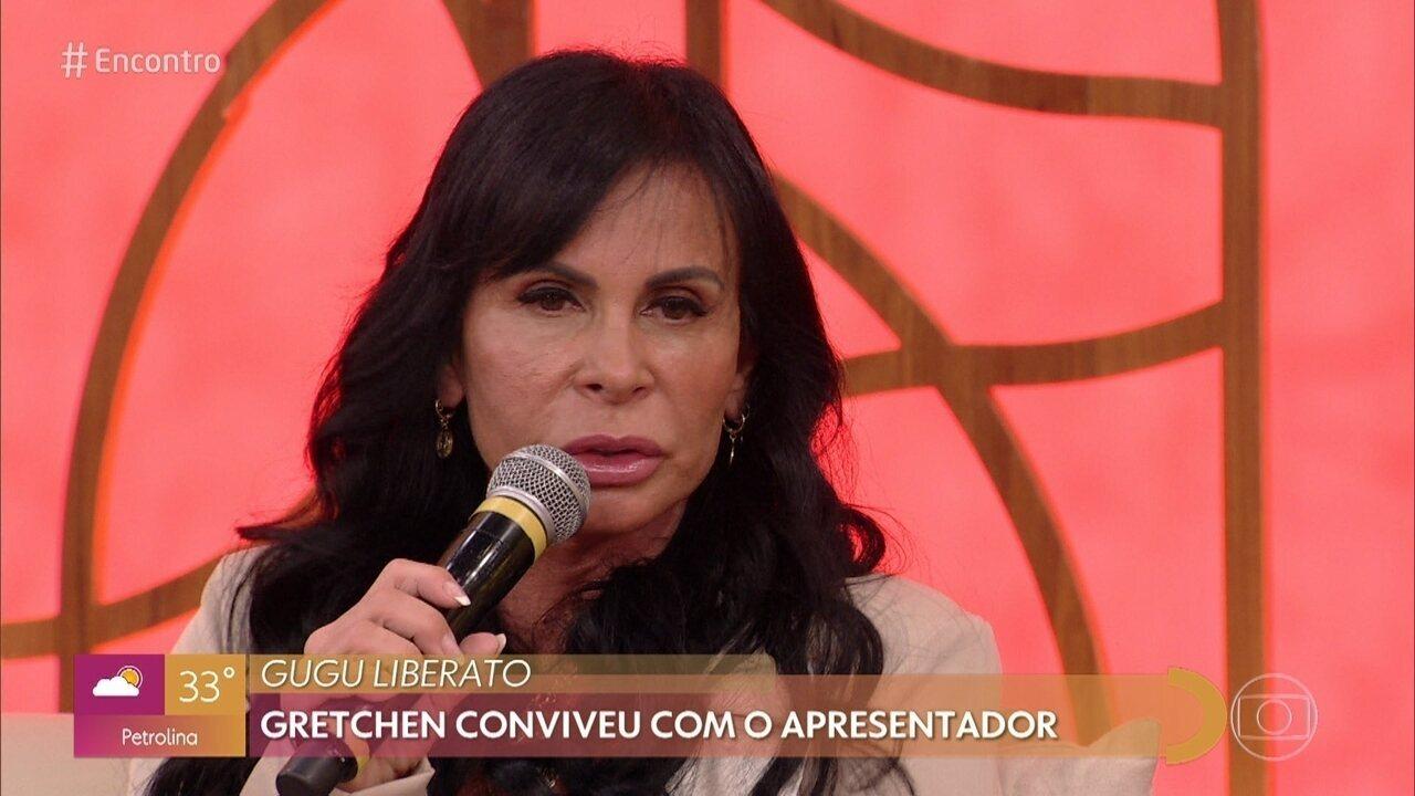 Gretchen conta que começou na TV com Gugu Liberato