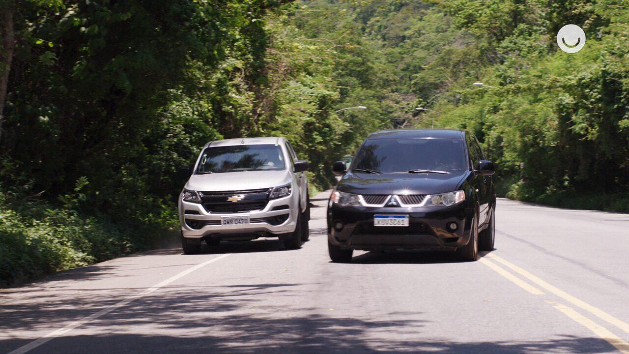 02/12 - Teaser 'Malhação - Toda Forma de Amar': o carro de Rita e Rui é interceptado