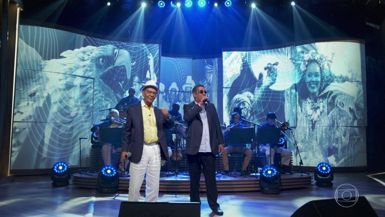"""Zeca Pagodinho e Monarco cantam """"Coração Em Desalinho"""""""