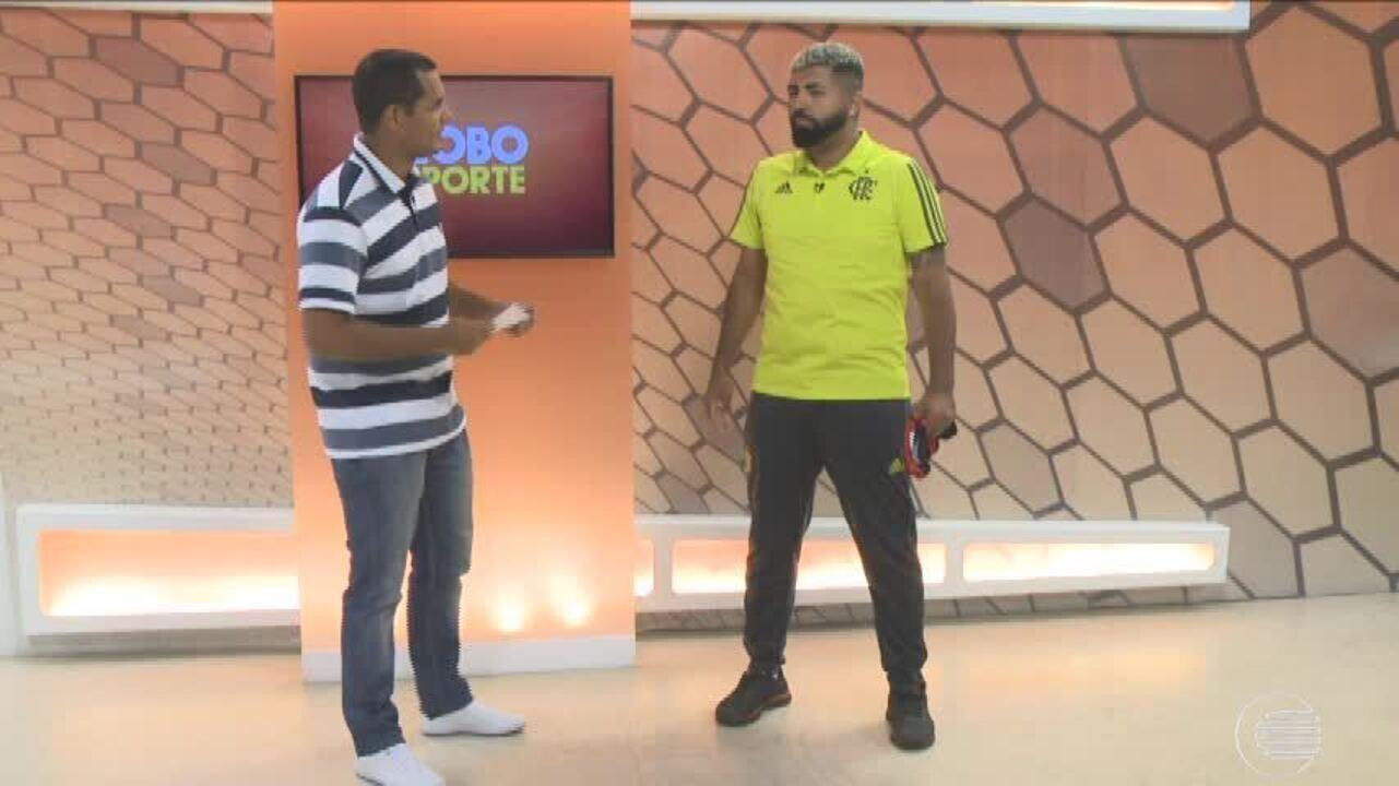 Gabigol da torcida vem ao Piauí e promete adotar novo visual do atacante do Flamengo