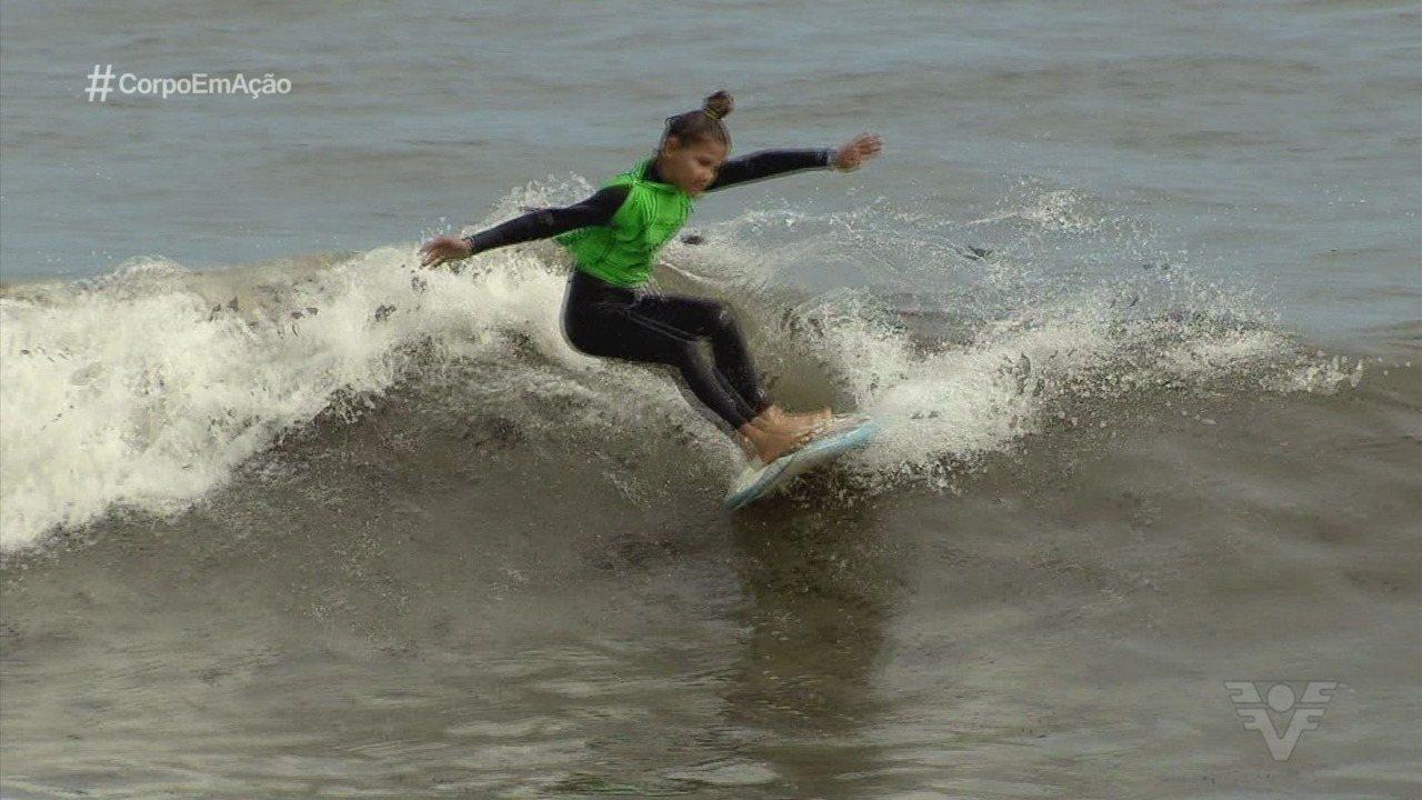Veja como foi a disputa do 24ª A Tribuna de Surf Colegial