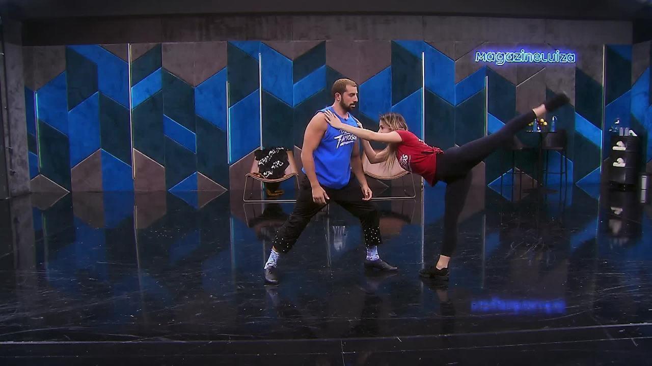 Veja os ensaios de Kaysar Dadour para o paso doble no 'Dança dos Famosos'