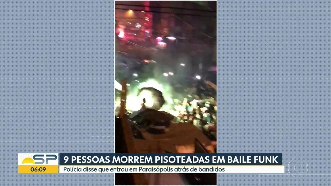 Polícia Civil vai ouvir testemunhas de baile funk com 9 mortos em Paraisópolisópolis