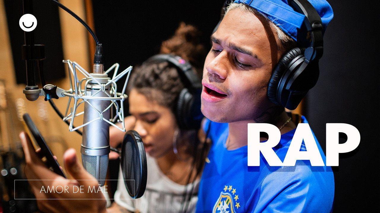 MC Cabelinho e Maria cantam rap que narra a história das protagonistas de 'Amor de Mãe'