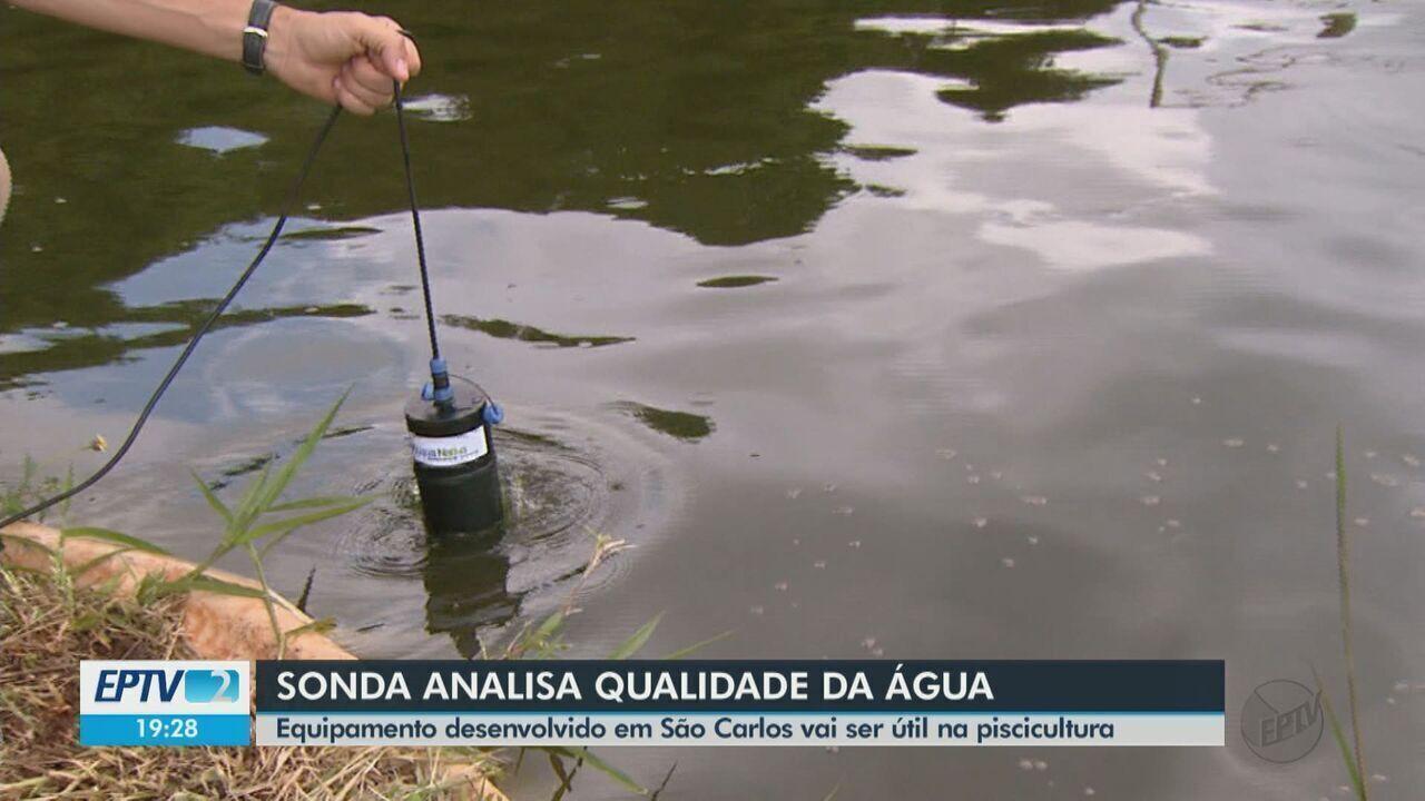 Pesquisadores da Embrapa de São Carlos desenvolvem sonda que analisa qualidade da água