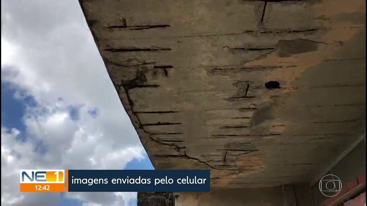 Problemas estruturais suspendem aulas na Faculdade de Odontologia da UPE