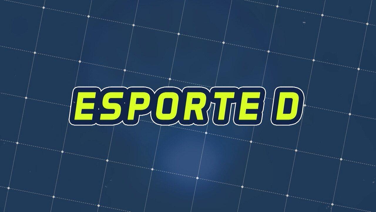 Assista à íntegra do Esporte D desta quarta-feira, 04/12 - Programa exibido em 04/12/2019.