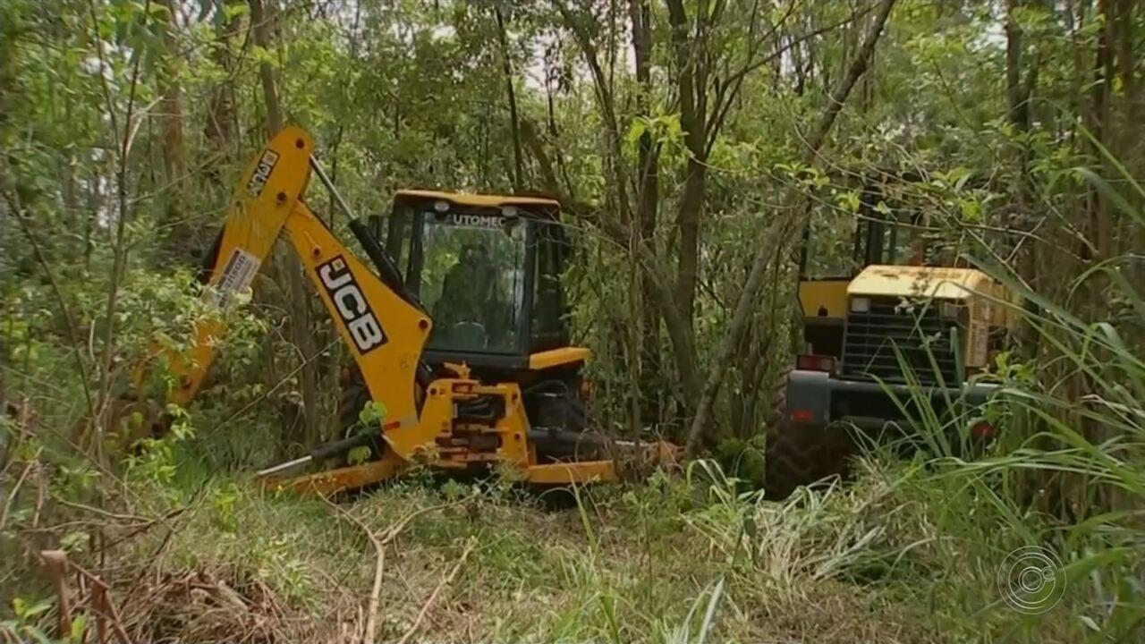 Homens armados rendem vigia e roubam máquinas de obra em rodovia de Cerquilho