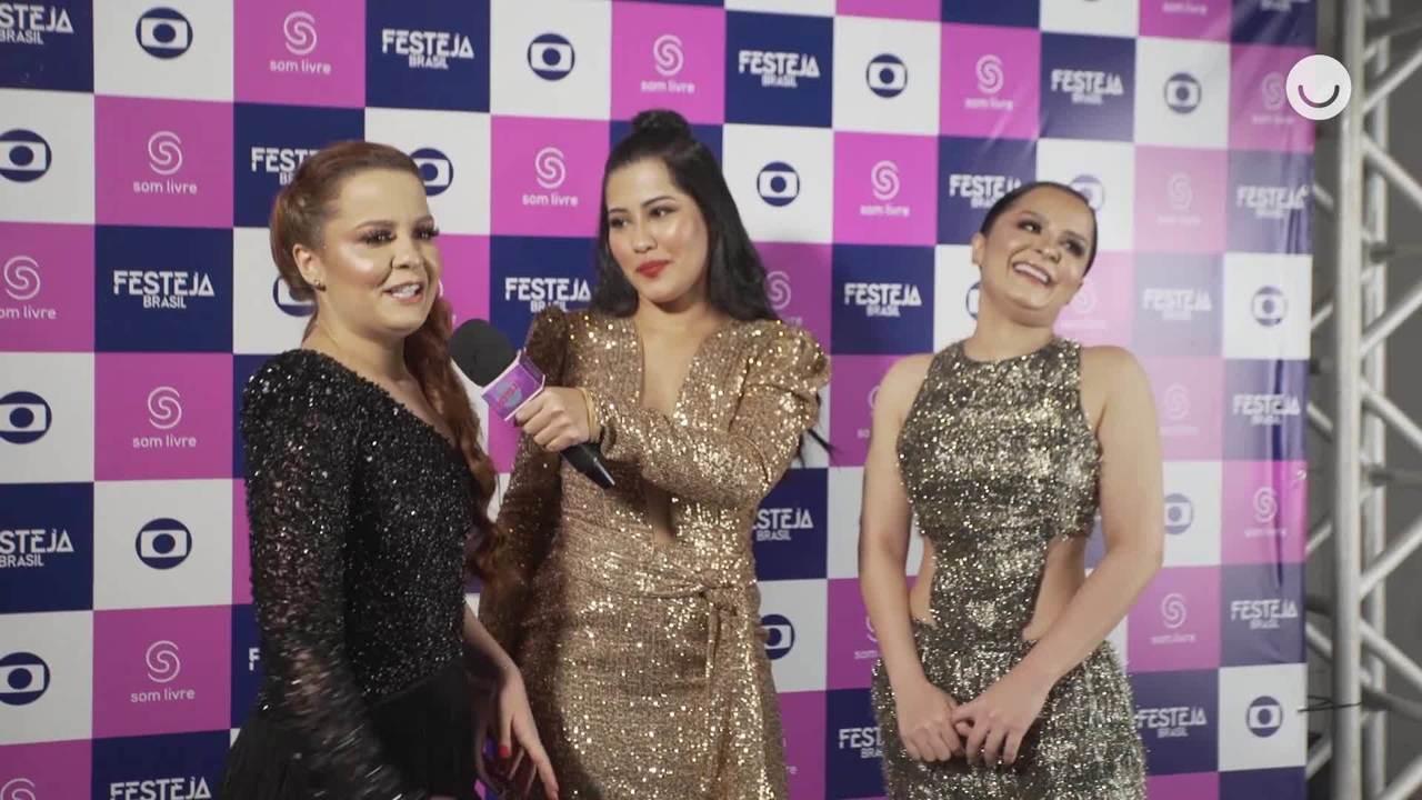 Maiara e Maraisa falam sobre o Festeja com Thaynara OG