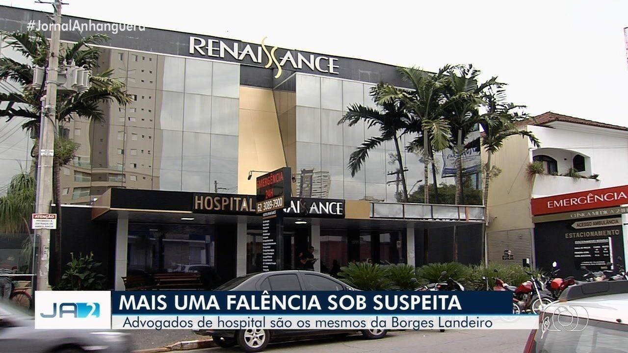 Hospital é suspeito de fraudar recuperação judicial em Goiás