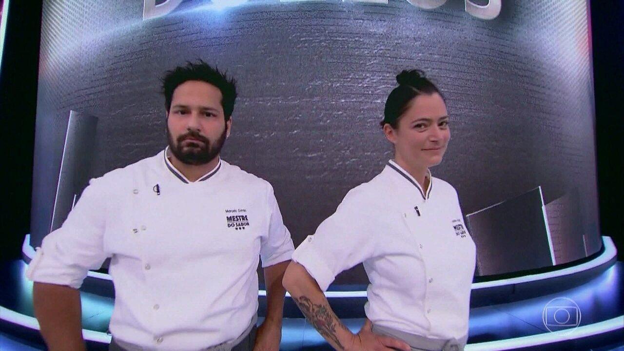 Marcelo Cotrim e Janete Borges são sorteados para duelo