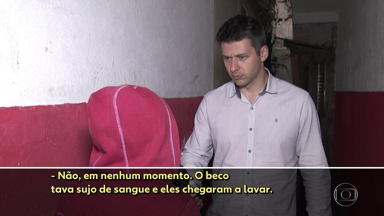 Moradores dizem que local onde morreu homem baleado na favela de Heliópolis foi alterado