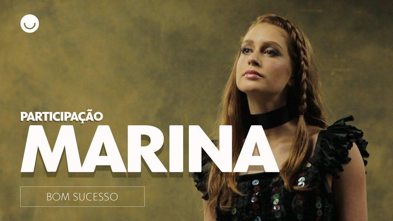 "Como Eliza, Marina Ruy Barbosa participa de desfile em ""Bom Sucesso"""