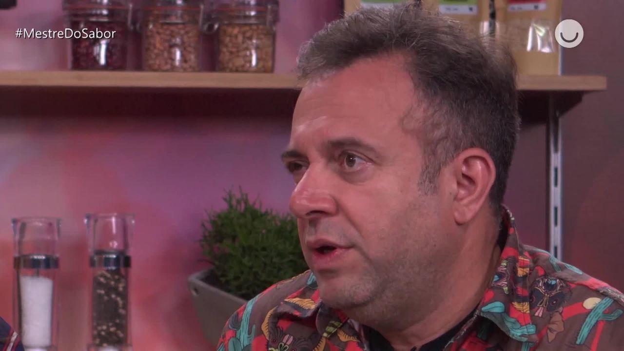André Barros admite sobre prato que o eliminou: 'Ficou lindo, mas faltou o sal'