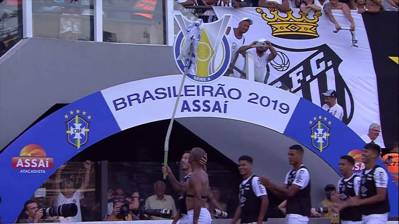 Melhores momentos de Santos 4 x 0 Flamengo pela 38ª rodada do Campeonato Brasileiro