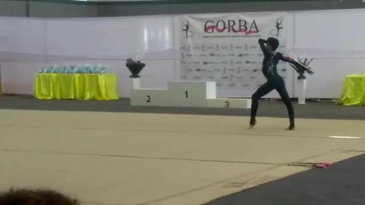 William Miranda, de 14 anos, é o primeiro ginasta rondoniense a conquistar um ouro
