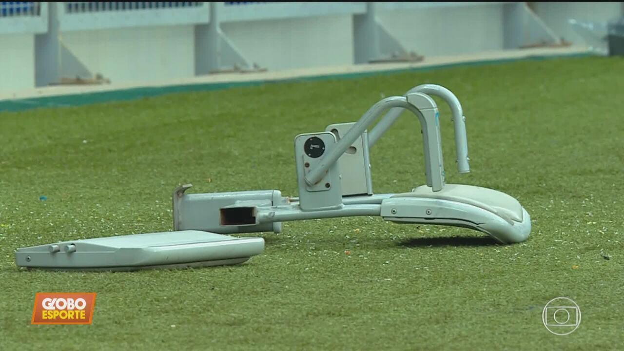 Cruzeiro é rebaixado para a Série B com vandalismo da torcida na arquibancada do Mineirão