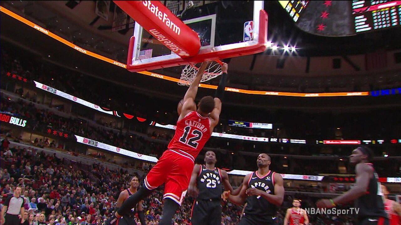 Melhores momentos de Chicago Bulls 92x93 Toronto Raptors pela NBA
