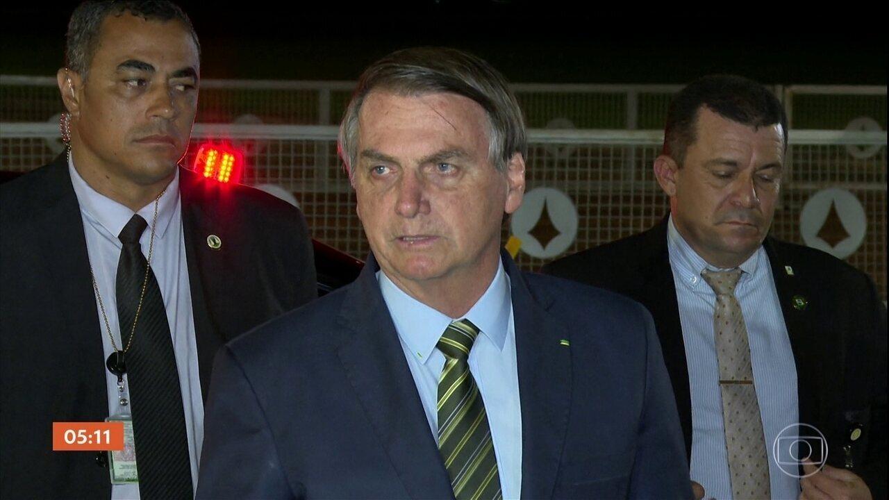 'Será um representante de peso', diz Bolsonaro sobre Mourão ir à posse na Argentina