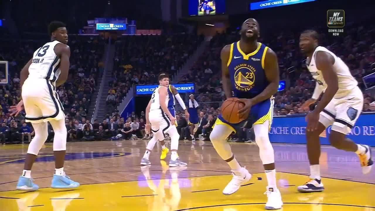 Melhores momentos: Memphis Grizzlies 110 x 102 Golden State Warriors pela NBA