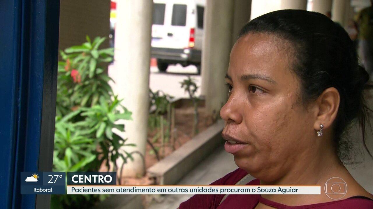 Souza Aguiar também recebe pacientes de outras unidades