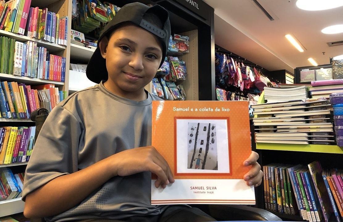Crianças e jovens cadeirantes escrevem livros sobre rotina de deficientes físicos no Rio