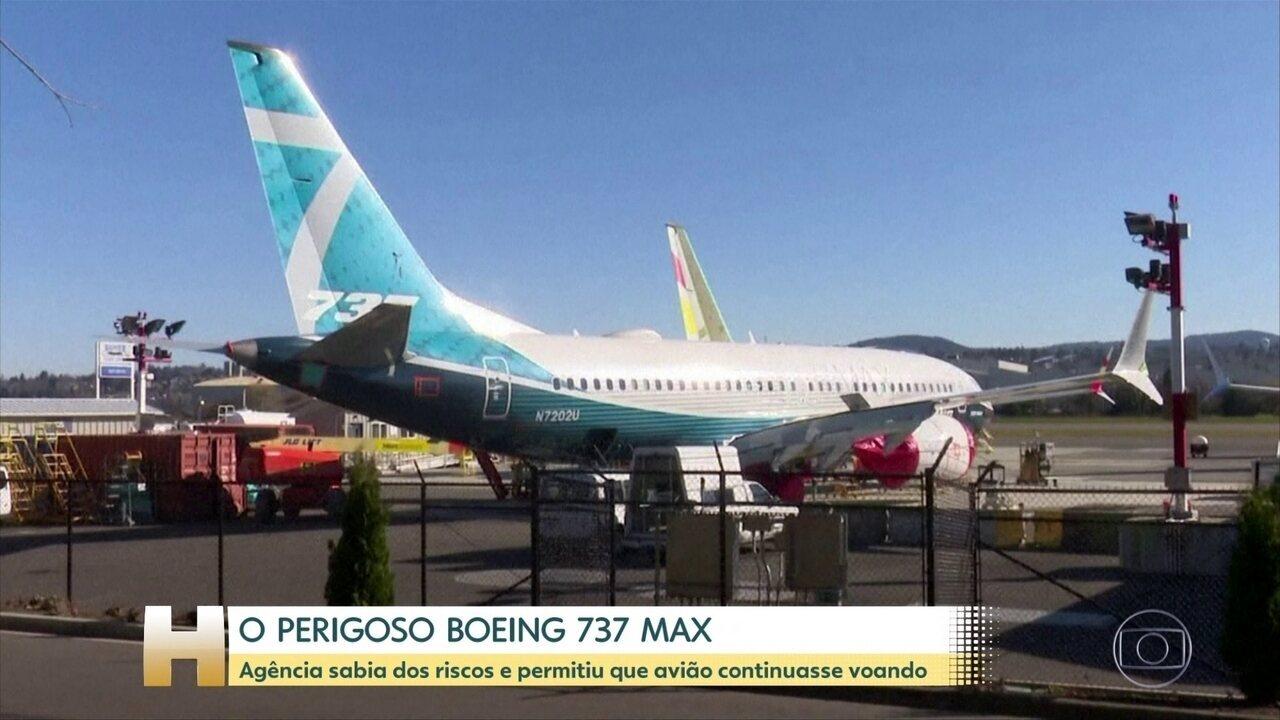 Documentos mostram que agência de aviação americana sabia dos riscos do Boeing 737 Max