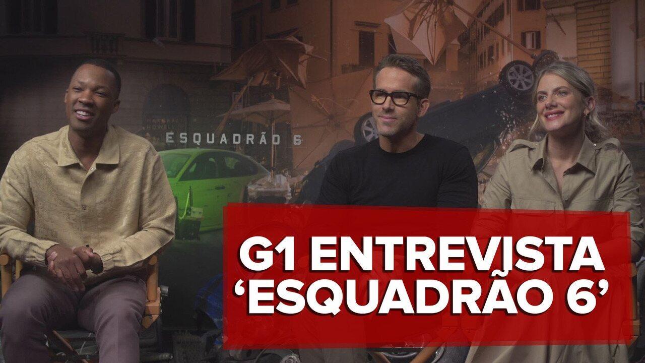 Ryan Reynolds quer trazer sequência de 'Esquadrão 6' para o Brasil