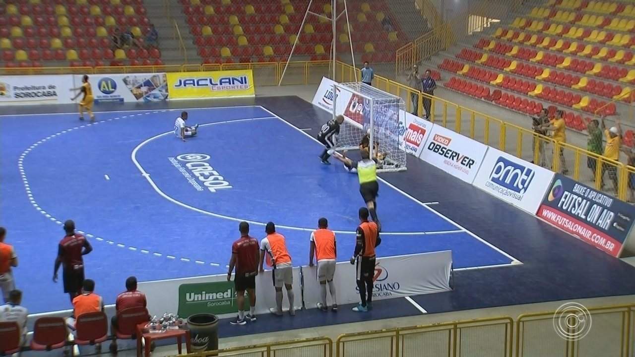 Sorocaba vence o Dracena e garante vaga na final da Liga Paulista de Futsal