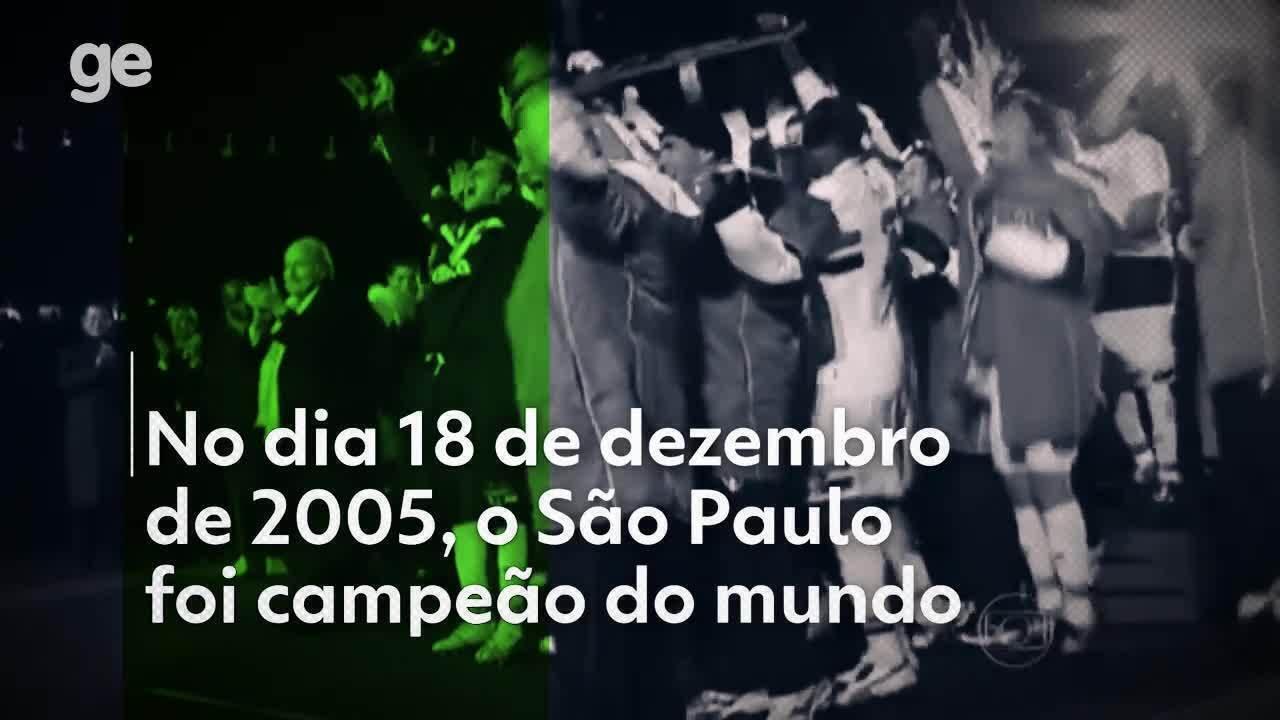 Em 2005, São Paulo ganhava o tricampeonato mundial