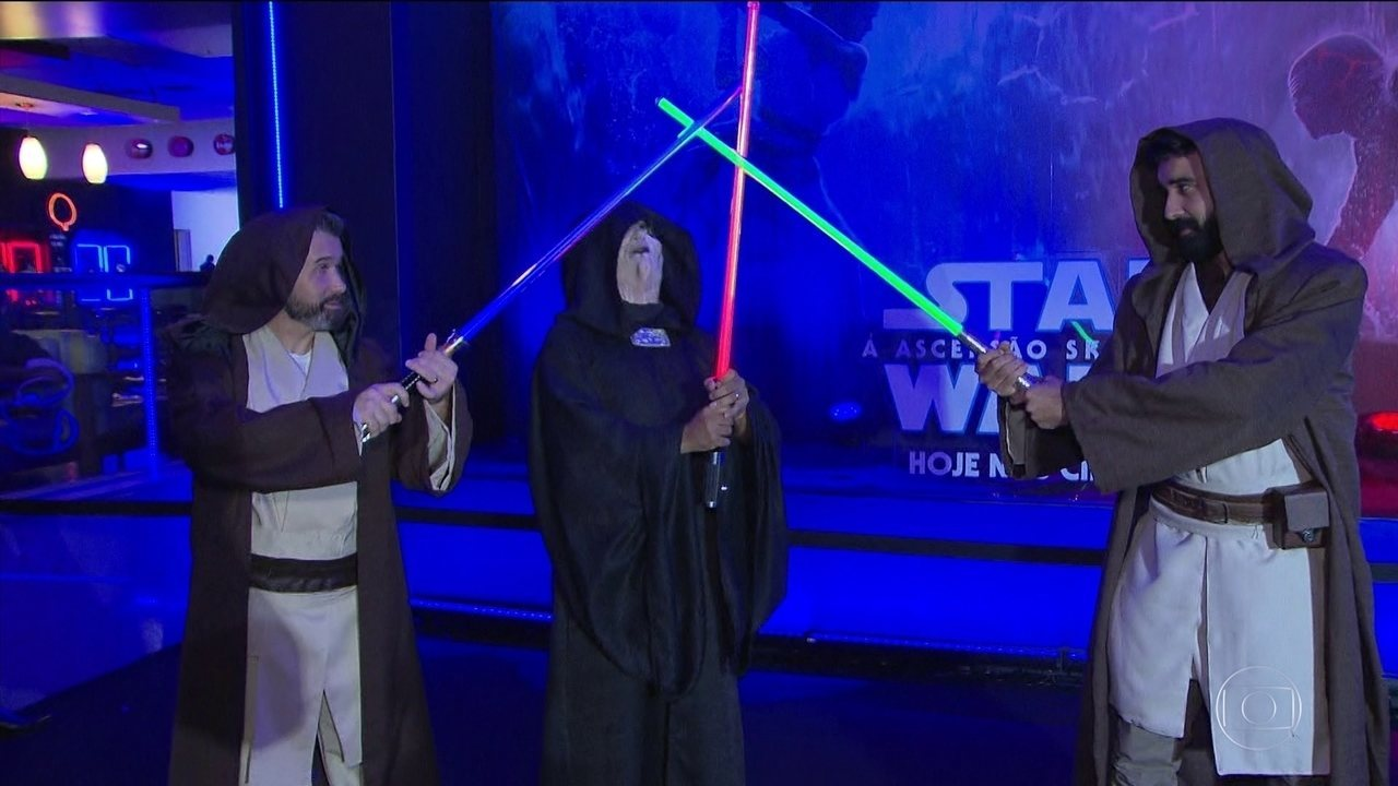 'Star Wars: a Ascensão Skywalker' lota salas de cinema de São Paulo