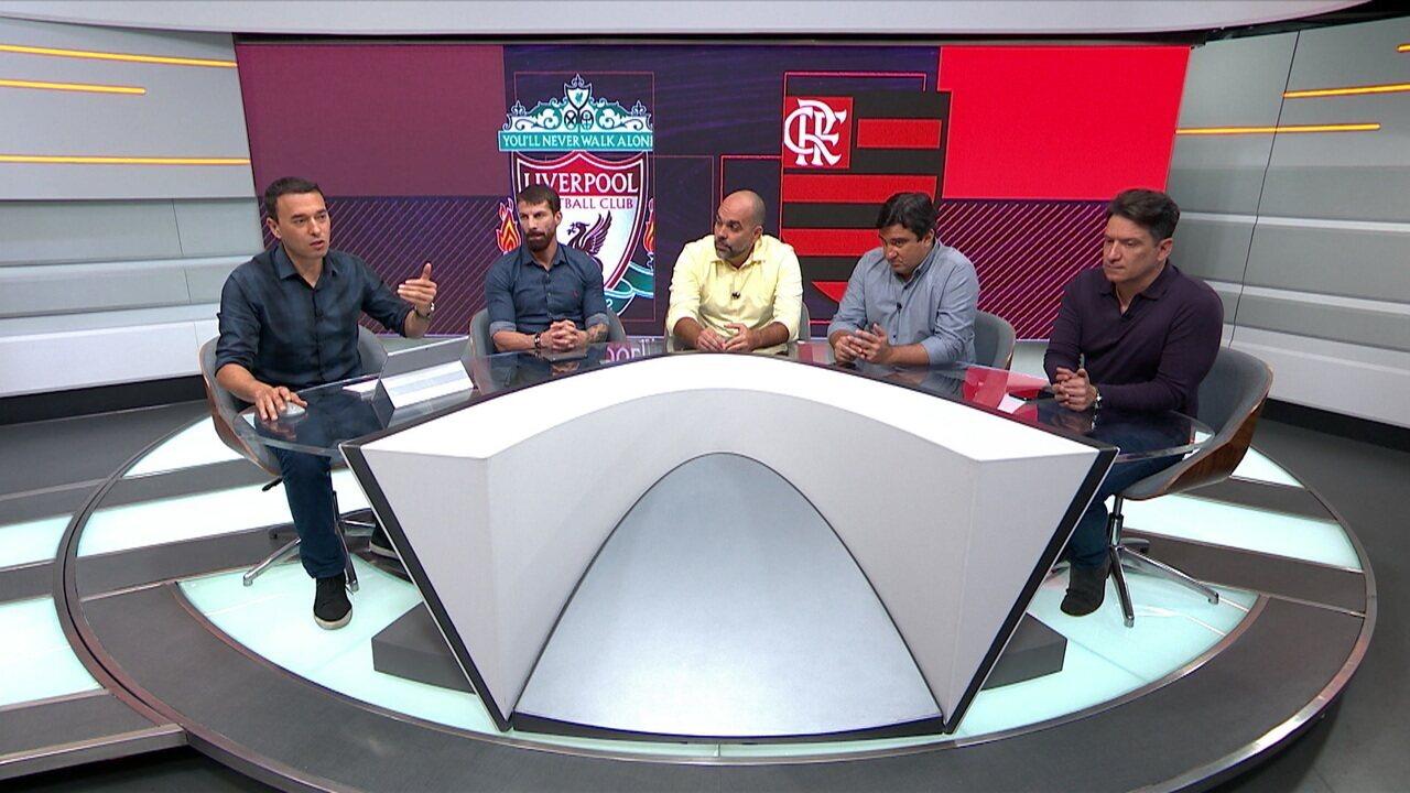 Rizek fala sobre o Flamengo chegar inteiro para a final contra o Liverpool