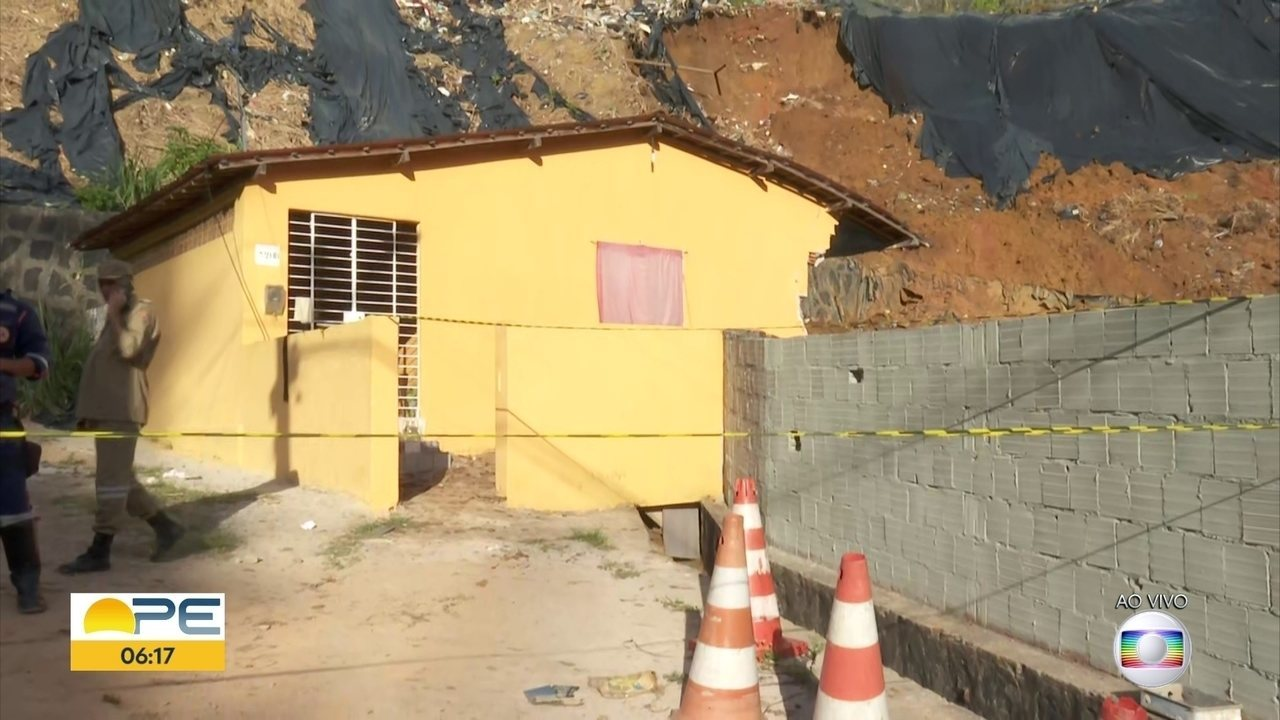 Deslizamento deixa mortos, feridos e desaparecidos no Recife
